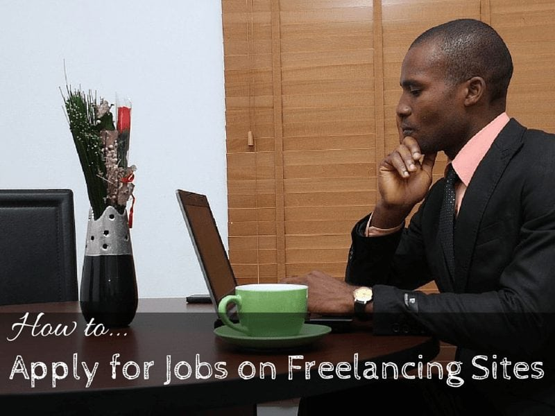 how to apply for jobs on freelancing sites
