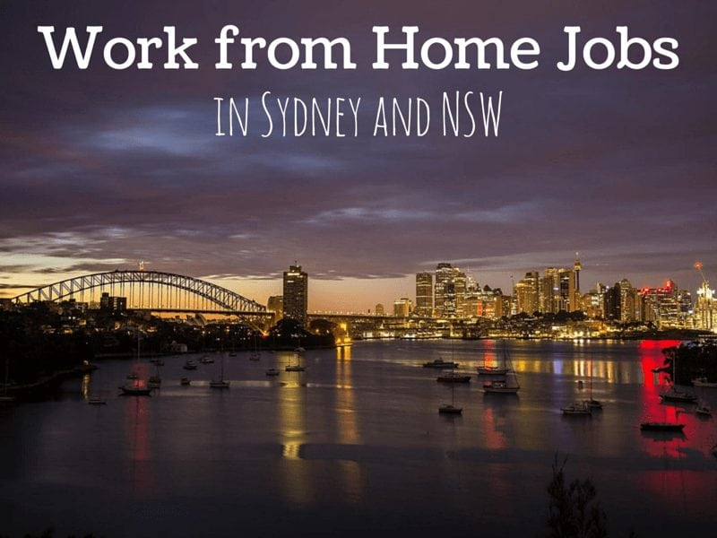 work from home jobs in sydney and nsw